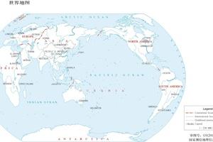 世界各国国土面积排名,全球200个国家领土面积数据