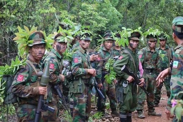 缅甸民地武实力排名,缅甸民间地方武装分布