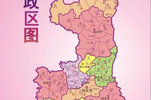 陕西省各市、区、县人口数量和面积统计