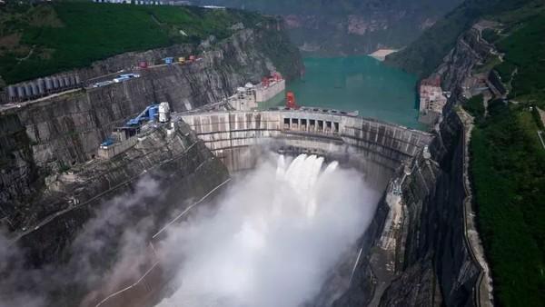 中国十大水电站排名,大型水电站排行榜